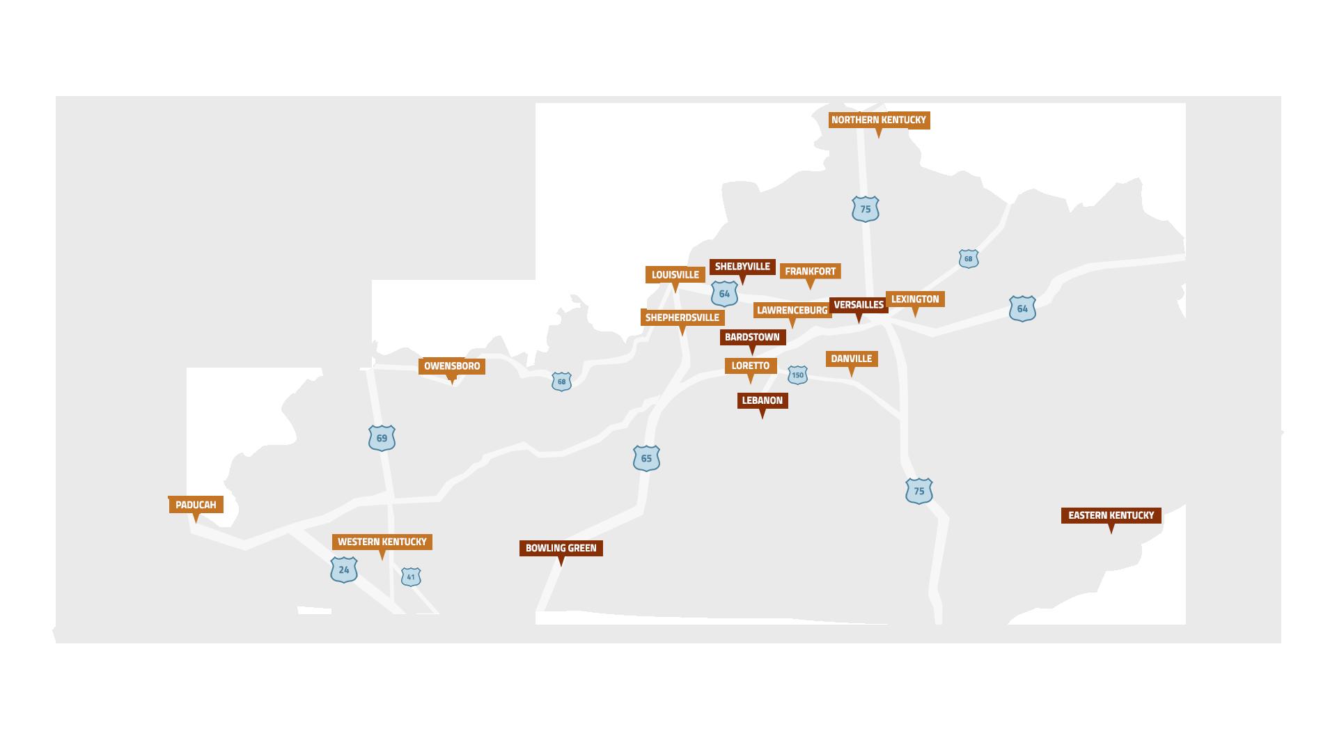 Bourbon Tours in Kentucky See Famous Kentucky Bourbon Distillers